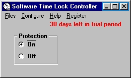 Click to view Software Time Lock 6.1.0 screenshot